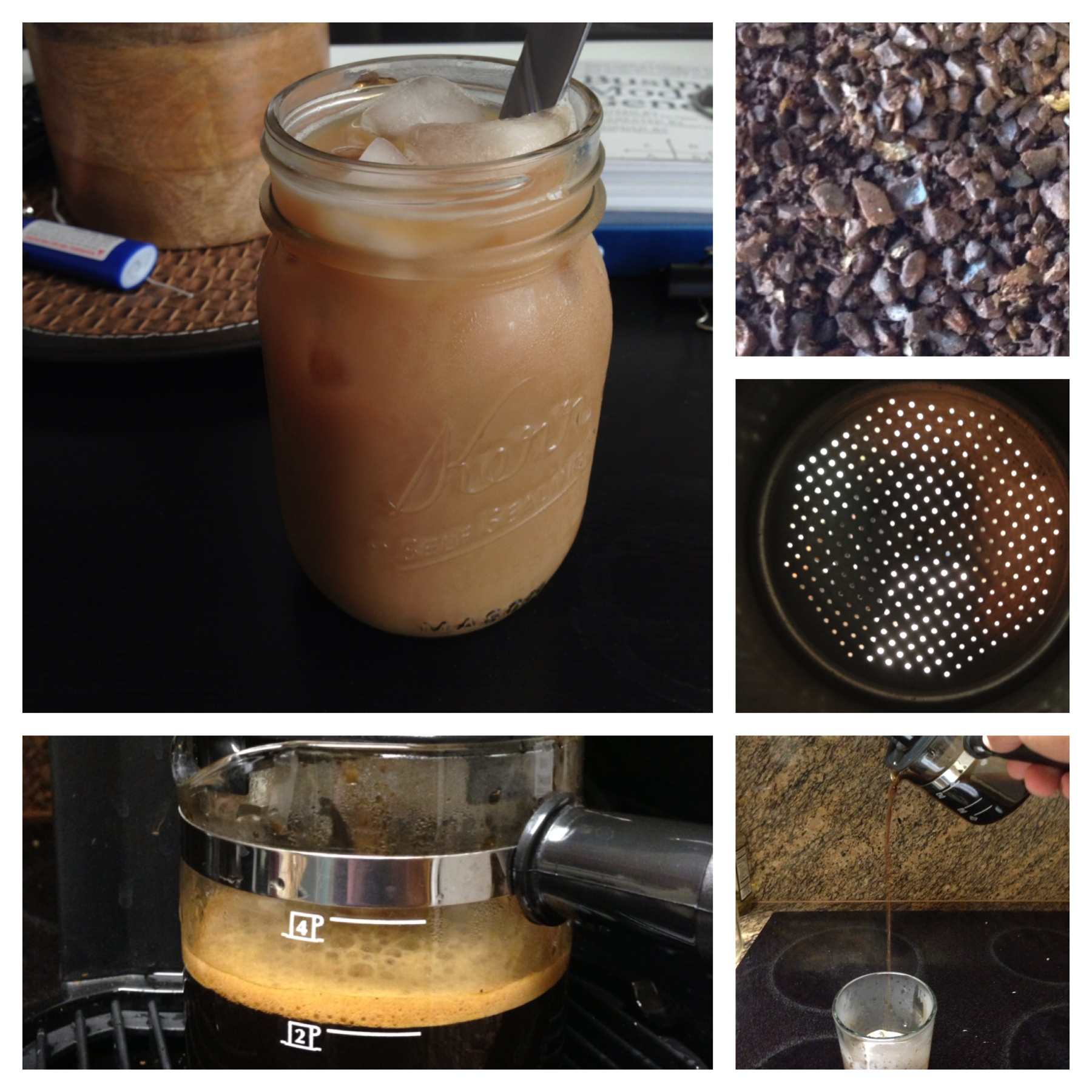 how to make an iced latte with espresso machine